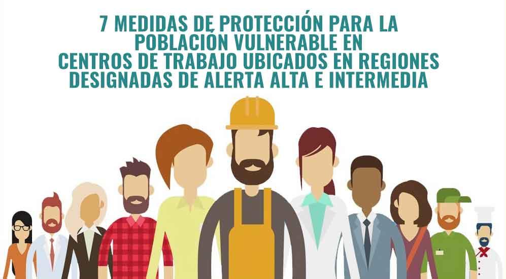 Poblaciones en situación de vulnerabilidad  según Diario Oficial de la Federación