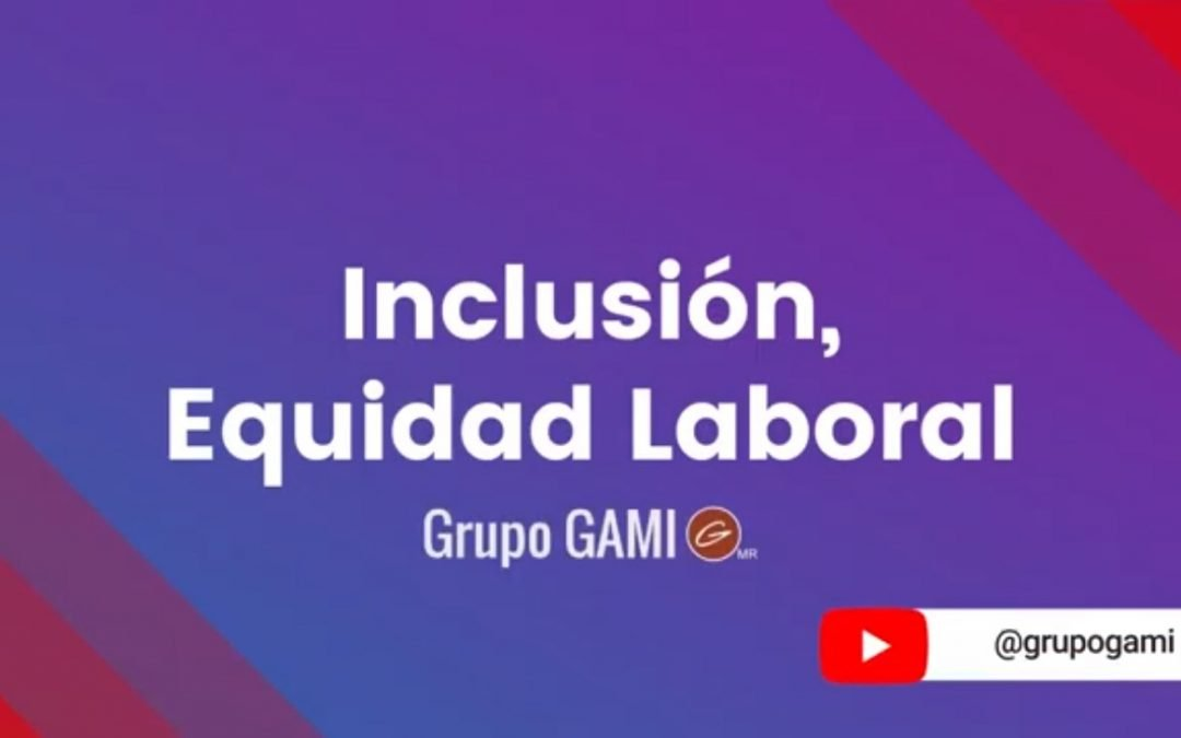 Inclusión, Equidad Laboral por Grupo GAMI
